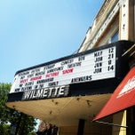 Photo taken at Wilmette Theatre by Steve R. on 5/13/2012