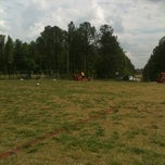Photo taken at YAKS Soccer Complex by Erica E. on 4/21/2012