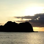 Photo taken at Rocks Bar @ Vomo Island Resort by Kristin D. on 5/21/2012