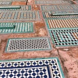 Photo taken at Saadian Tombs, Marrakesh by Alfred V. on 4/5/2012