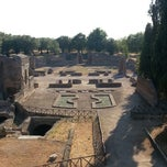 Photo taken at Villa Adriana by Alessandro A. on 8/19/2012