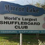 Photo taken at St. Petersburg Shuffleboard Club by Jim J. on 5/26/2012