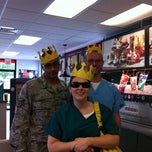Photo taken at Burger King by Paige on 5/10/2012