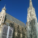 Photo taken at Stephansdom by Juyon H. on 8/14/2012