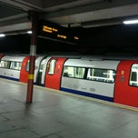 Photo taken at Kilburn London Underground Station by Laura K. on 11/13/2011