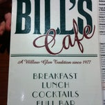 Photo taken at Bill's Cafe by Adam on 7/11/2012