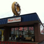 Photo taken at Maple Donuts by Andrew on 4/16/2011