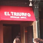 Photo taken at El Triunfo by Brandice M. on 10/1/2011