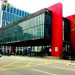 Photo taken at Museu de Arte de São Paulo (MASP) by Roger P. on 3/23/2012