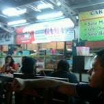 Photo taken at Roti Bakar Gama Simpang Lima by Aria S. on 8/24/2012