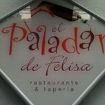 Photo taken at El Paladar De Felisa by Jordi B. on 2/25/2012