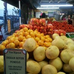 Photo taken at Robert Is Here Fruit Stand & Farm by Romina C. on 11/14/2011