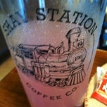 Photo taken at Shay Station Coffee & Wine Bar by Robert B. on 7/9/2012