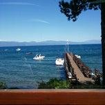 Photo taken at Gar Woods Grill & Pier by Kristen P. on 6/21/2012