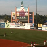 Photo taken at Whitaker Bank Ballpark by Bill R. on 8/12/2011