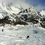 Photo taken at Courmayeur by Pavel I. on 1/4/2012
