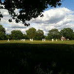 Photo taken at Putney Common Cricket Pitch by Ian G. on 5/14/2011