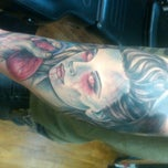 Photo taken at Stone House Tattoo by Tommy B. on 1/9/2012