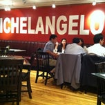 Photo taken at Michelangelo's on Main by Dave Z. on 10/13/2011