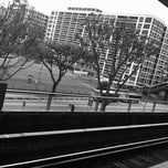 Photo taken at Khatib MRT Station (NS14) by Jenny L. on 1/6/2011