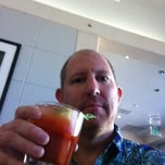 Photo taken at American Airlines Admirals Club by Dave on 4/9/2012
