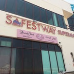 Photo taken at Safestway Supermarket سيفستوي by Scoop F. on 6/29/2012