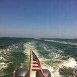 Photo taken at Duxbury Bay by alex g. on 6/17/2012