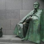 Photo taken at Franklin Delano Roosevelt Memorial by Stan H. on 10/22/2011