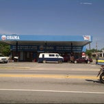 Photo taken at Obama Gas Station by Marcy B. on 4/24/2012