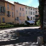 Photo taken at La Place De Mougins by Rémy B. on 9/15/2011