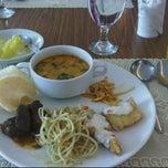 Photo taken at Dining Hall Prasetiya Mulya Business School by Kartika H. on 6/24/2011