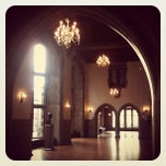 Photo taken at Mitten Hall by Aalia R. on 1/31/2012