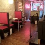 Photo taken at Blush Nail Lounge by Sarah P. on 6/18/2012