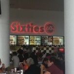 Photo taken at Sixties Burger by Artma P. on 9/17/2011