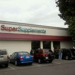 Photo taken at Super Supplements by Susan W. on 9/21/2011