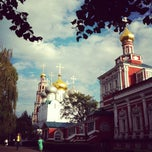 Photo taken at Новодевичий монастырь by М Ш. on 8/25/2012