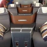 Photo taken at Lufthansa Flight LH 418 by sv H. on 8/5/2012