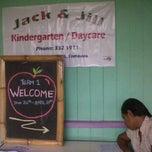 Photo taken at Jack & Jill Kindergarten & Daycare by Sitiveni R. on 1/23/2012