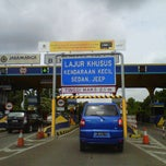 Photo taken at Gerbang Tol Bekasi Timur by Joko S. on 1/15/2012