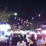 Photo taken at ถนนคนเดินเชียงราย (Chiang Rai Walking Street) by Kolf on 2/12/2011