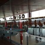 Photo taken at Aeropuerto de Vigo (VGO) by Victor M. on 4/2/2012