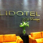 Photo taken at Lidotel Hotel Boutique by Frank C. on 5/3/2012