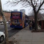 Photo taken at Megabus Stop Providence by Mariana R. on 12/31/2011