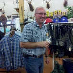 Photo taken at Ray's Sports & Western Wear by Tami P. on 8/20/2012
