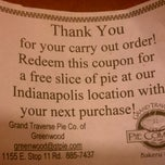 Photo taken at Grand Traverse Pie Company by Hope W. on 7/1/2011