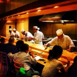 Photo taken at Sushi Yasuda by PHUDE-nyc on 8/19/2012