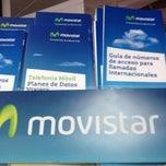 Photo taken at Movistar by Ariadne R. on 8/7/2012