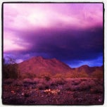 Photo taken at Sonoran Preserve - Sonoran Loop Trail by Brandon Z. on 11/14/2011