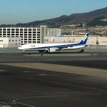 Photo taken at ANA Flight 7 by Nobuhiro M. on 12/4/2011