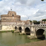Photo taken at Giardini di Castel Sant'Angelo by Claire K. on 4/24/2012